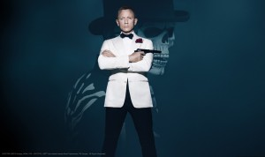 Daniel Craig is James Bone in Spectre. Image from http://www.007.com/spectre/