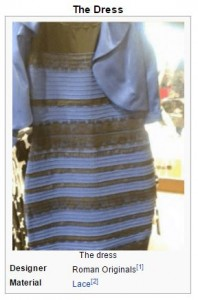 The dress. Image from Wikipedia